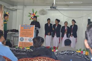National Conference at Seemant Institute - welcome song