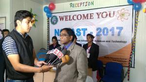 National Conference at Seemant Institute - Director Addressing to Media