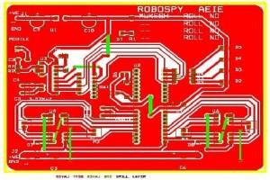 DTMF Based spy robot 10