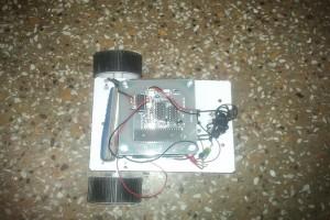 DTMF Based spy robot 11