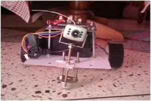 DTMF Based spy robot 9